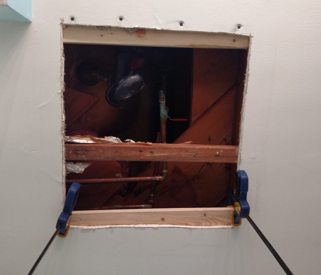 Easy drywall repair